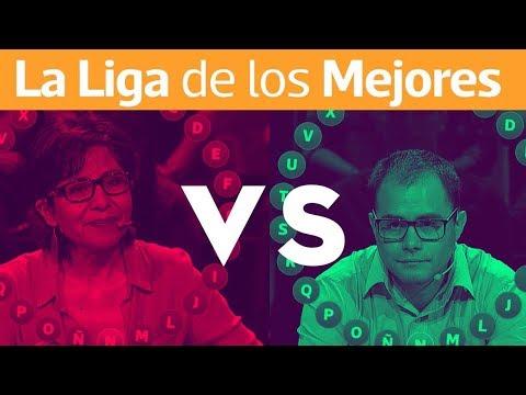 Pasapalabra | La Liga De Los Mejores | Cristián Guzmán Vs Ledy Osandón