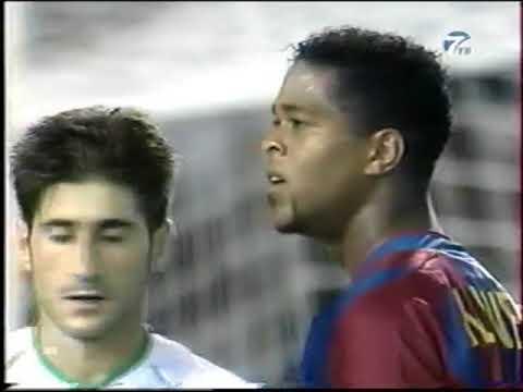 Season 2002/2003. Racing Santander RC - FC Barcelona - 1:1