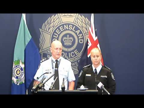 Queensland Police Address Media Following Fatal Stabbing of British Woman - August 24