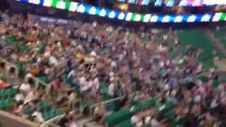 Fans react to the Jazz picking Dante Exum 2014 NBA Draft