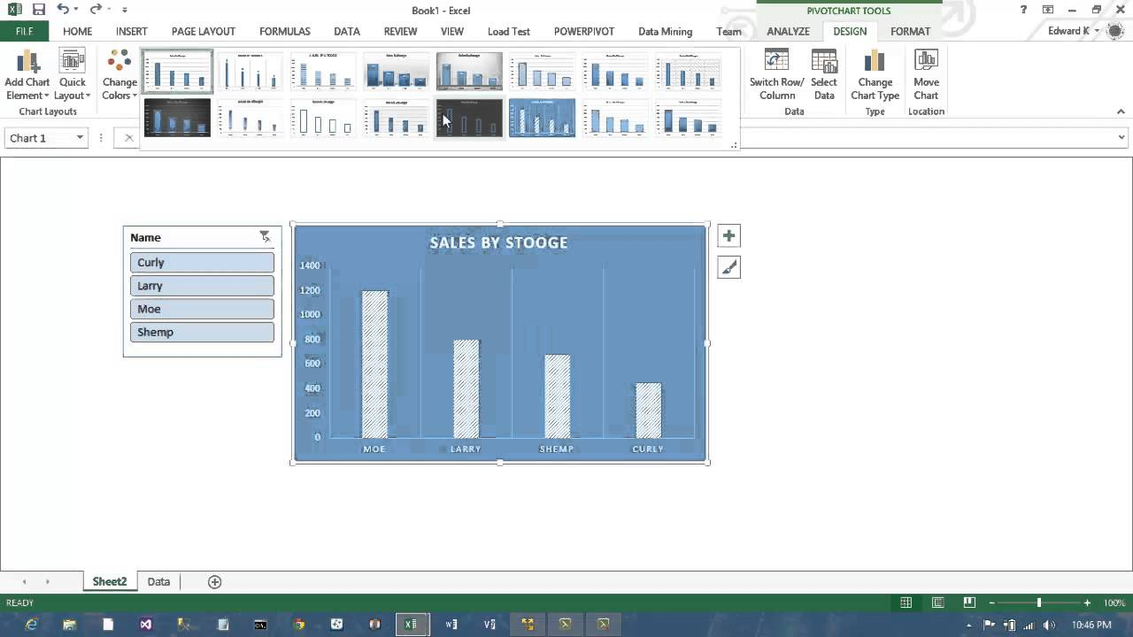 Excel 2013 PowerPivot Dashboards with Sharepoint 2013 BI