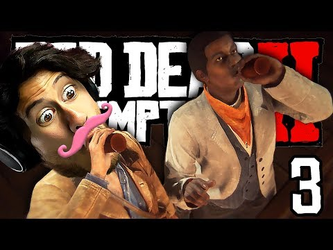 BOTTOMS UP, LENNY!! | Red Dead Redemption - Part 3