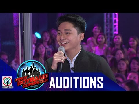 "Pinoy Boyband Superstar Judges' Auditions: Raymond Mabute – ""Ako'y Sa'yo At Ika'y Akin Lamang"""