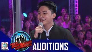 """pinoy boyband superstar judges auditions raymond mabute – """"akoy sayo at ikay akin lamang"""""""