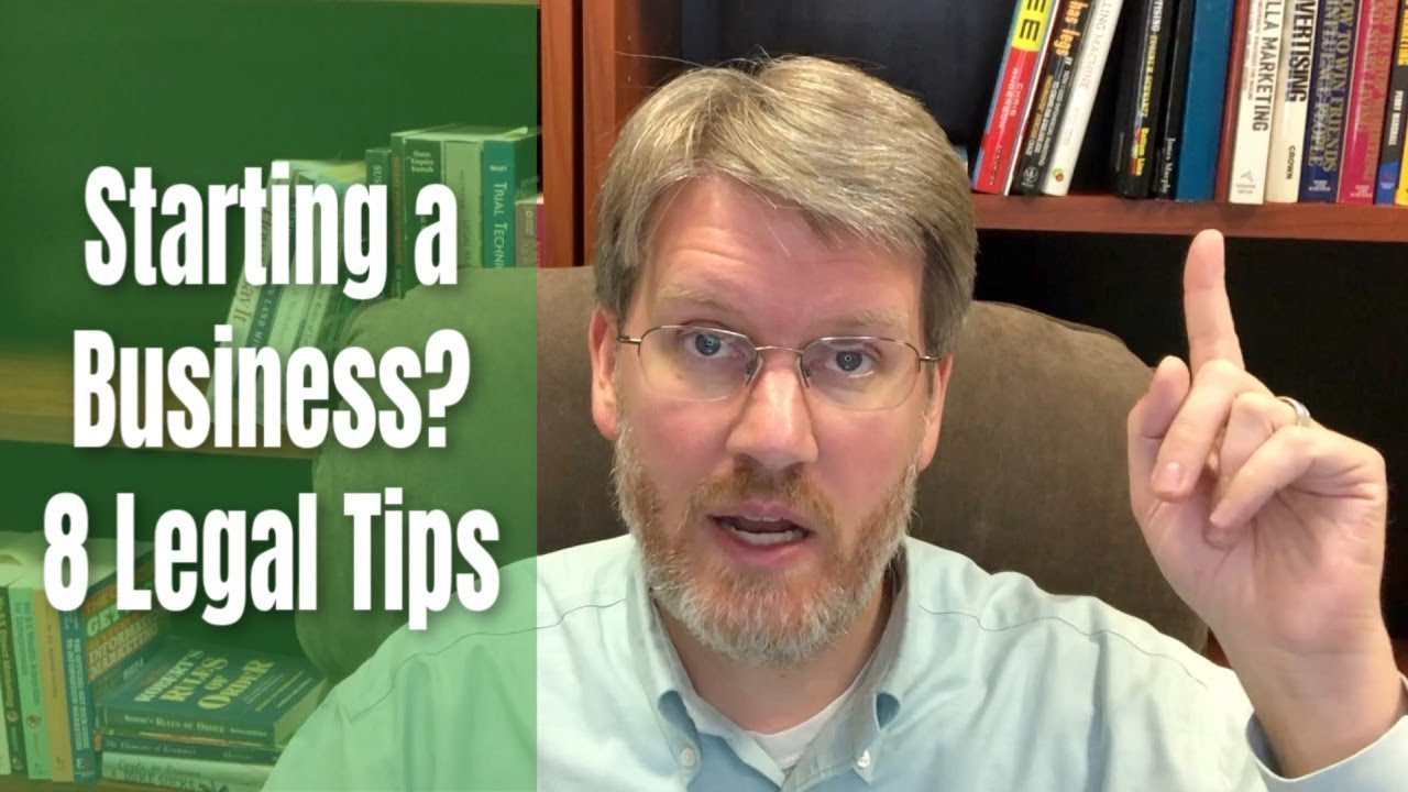 8 STEPS | How to Legally Start a Business | Steps to Start Your Business