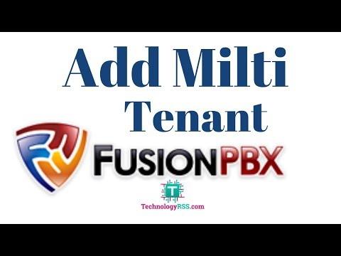 How To Create Multi Tenant On FusionPBX - YouTube