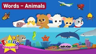 "Kids vocabulary Theme ""Animals"" - Baby Animals, Sea Animals, Bugs, Animal Sounds"