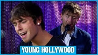 Emblem3 Performs 3000 Miles at Young Hollywood - ACOUSTIC!