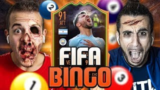 🎱 FIFA BINGO con ULTIMATE SCREAM!!! | Enry Lazza vs Ohm