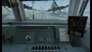З кабіни эр9м-527