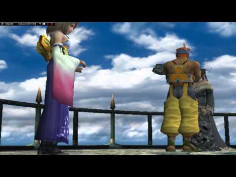 Final Fantasy X Walkthrough (12) - Auron, the new guardian!