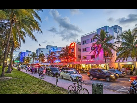 Miami Beach, Fort Lauderdale, Key West, Florida 2018 (1080p60fps)