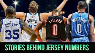 Meanings Behind Jersey Numbers Of NBA Superstars! KD, Lillard, Westbrook & MORE!