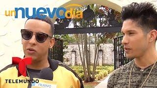 Daddy Yankee Y Chino Y Nacho Graban Nuevo Video Musical | Un Nuevo Día | Telemundo
