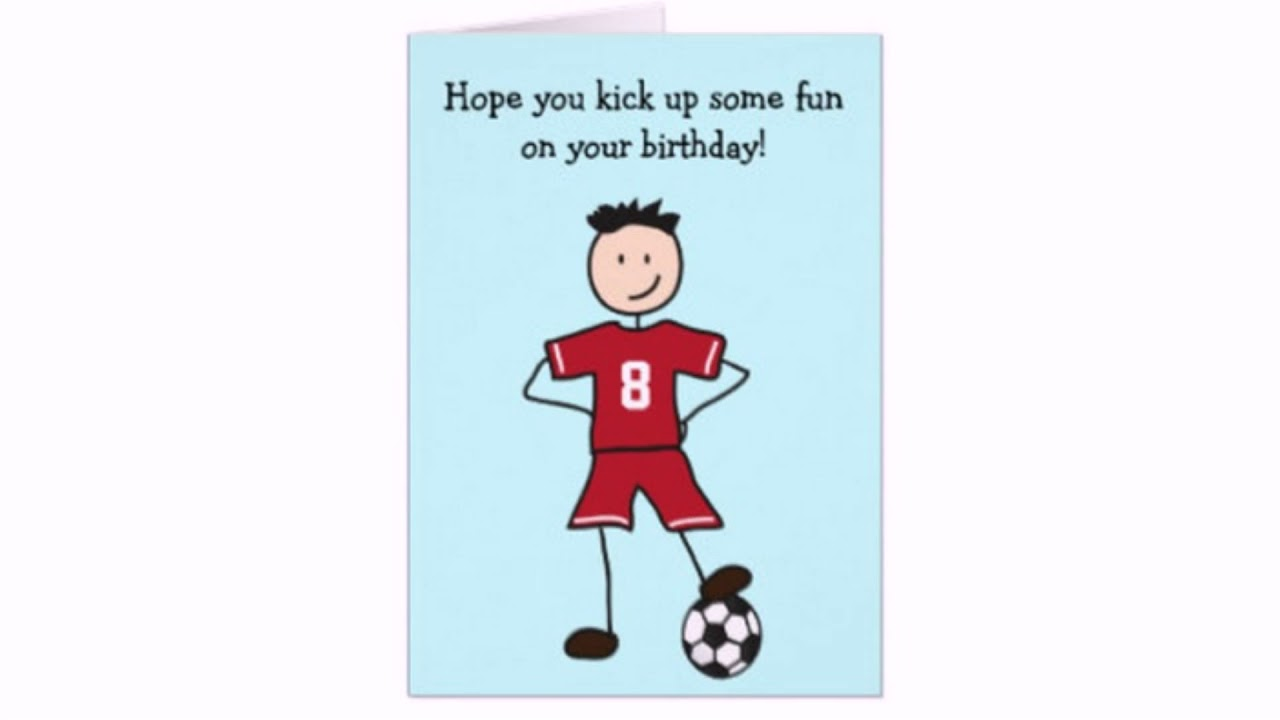 Personalised Four Today Football Birthday Top Footy Style Birthday Top Fourth