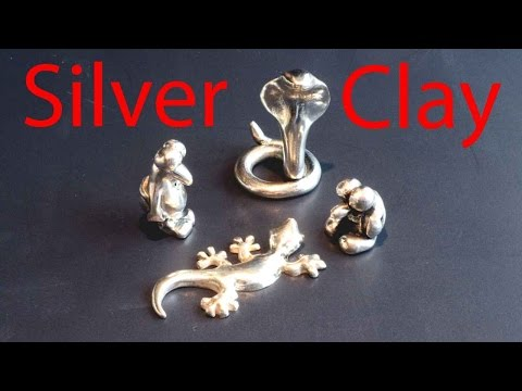 Metal Clay Sculpting (Silver)