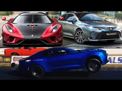 Бюджетная Regera? Hennessey Venom F5 500км.ч,  Новая Toyota Corolla 2020, Электро Камаро!