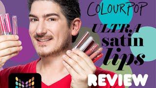 Nueva Colección de Labiales Colour Pop Ultra Satin Lips