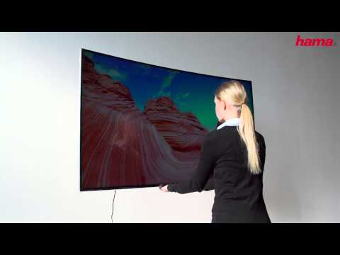 Fullmotion curved TV wall bracket