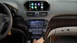 Acura MDX 2013 2014 Infotainment and Navigation System VLine Demo Android Auto CarPlay