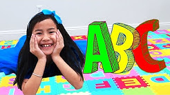 ABC English Alphabet Song | Learn Kids ABCs with Sing-Along Nursery Rhymes Songs