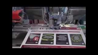 PERONI CCS/A Machine Automatique à poser des Œillets Cordonnés sur calendriers muraux