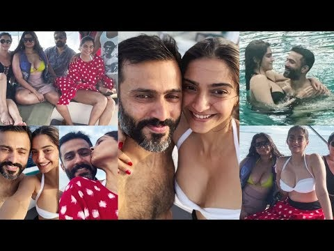 Sonam Kapoor Maldives Vacation With Husband Anand Ahuja ♥