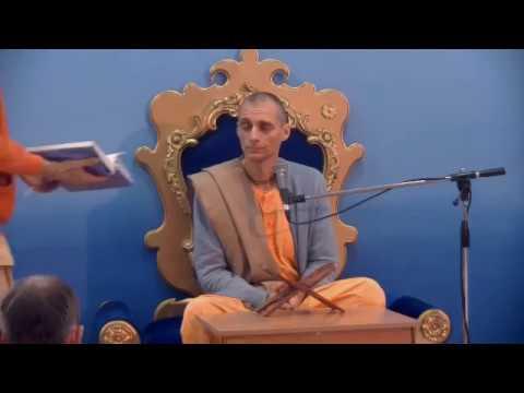 Шримад Бхагаватам 1.12.1 - Шри Гаурахари прабху