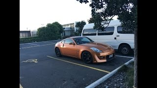 arm workout for size 350z drift first video