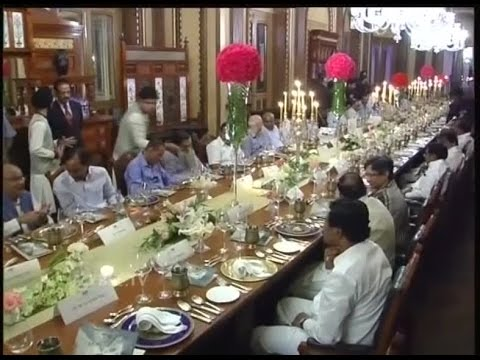 Ktr host dinner at falaknuma palace youtube for 18th century french cuisine
