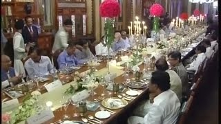 KTR Host Dinner at Falaknuma Palace