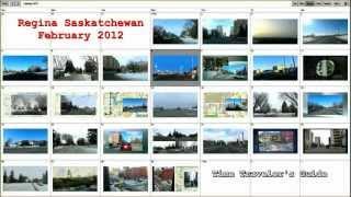 Regina Saskatchewan.  February 2012 (Time Traveler