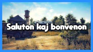 Saluton kaj Bonvenon