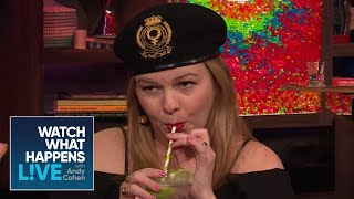 Amber Tamblyn Breaks Down The 'Wives Relationships | WWHL