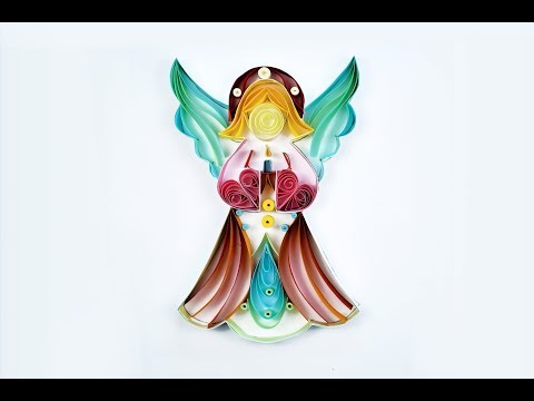 Paper Quilling Art | Quilling Angel | Art & Craft