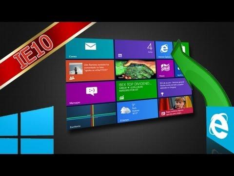 Rehabilitar Internet Explorer 10 - Windows 8 Pro