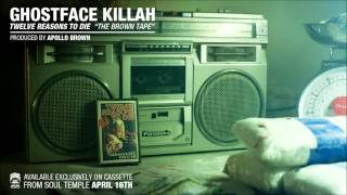 "Ghostface Killah ""Revenge Is Sweet"" from 12RTD ""The Brown Tape"""