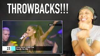 Ariana Grande - Music Evolution (2011 - 2017)   (REACTION)