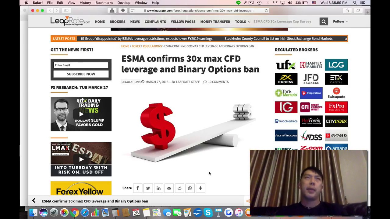 Fca esma binary options
