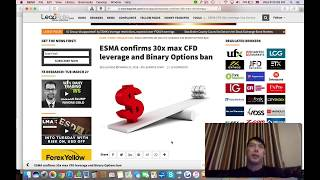 ESMA Binary Ban: Is Binary Options Trading Really Banned in Europe? What Are Our Options?