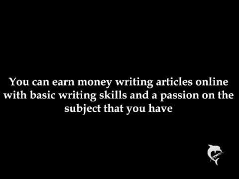 Freelance Work From Home | Writing Articles Online