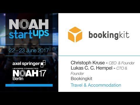 Bookingkit - NOAH17 Berlin Startups