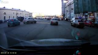 Crazy Russian parking