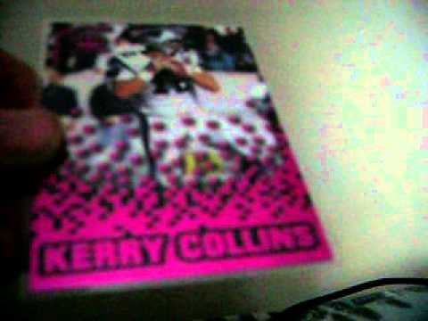 Kerry Collins collection, part 1 !  The insert revolution continues !!!