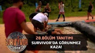 Survivor'da görünmez kaza! Hastaneye kaldırıldı...| 28. Bölüm Tanıtımı | Survivor 2018