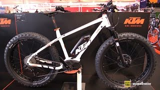2016 KTM Macina Freeze 28 11 CX5 Electric Fat Bike - Walkaround - 2015 Eurobike
