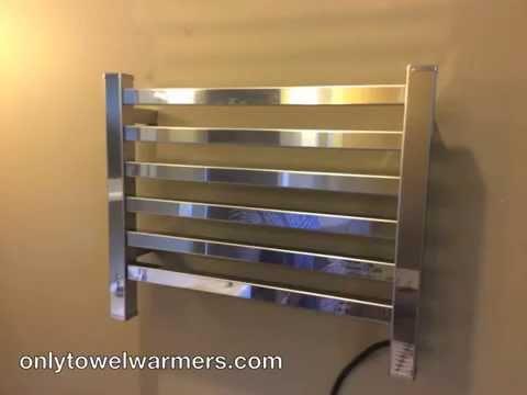 Installing The Amba Quadro 2016 Towel Warmer