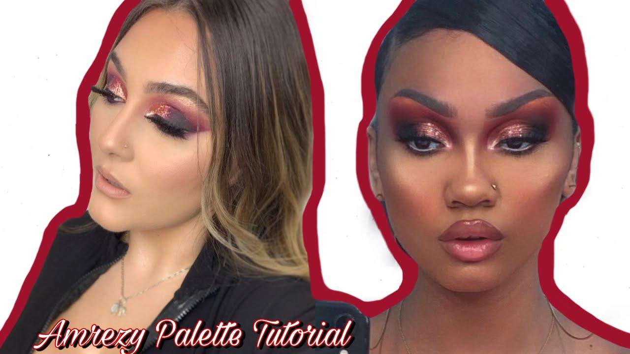 No Amrezy X ABH Palette| Norvina Pro| Step by Step Makeup