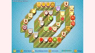 How to play Fruit Mahjong Spiral Mahjong game | Free online games | MantiGames.com