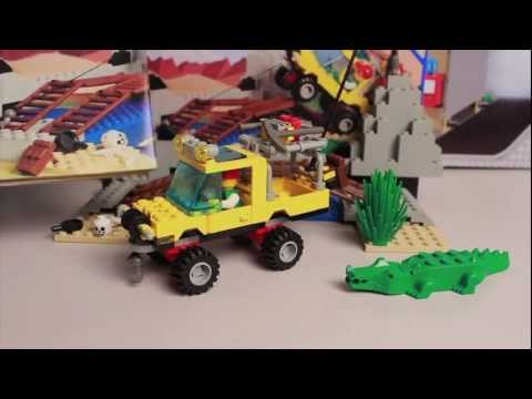 LEGO Set Review: Town Outback Amazon Crossing (6490) from 1997
